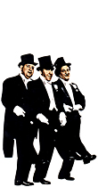 Three Stooges - Tuxedos