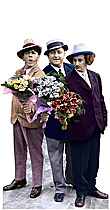 Three Stooges - Flowers For My Love TALKING