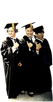 Three Stooges - Graduation TALKING