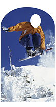 Snowboarder Stand In