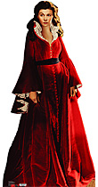 Scarlett O'Hara - Red Dress